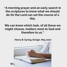 Morning prayers and scripture study Lds Quotes, Religious Quotes, Inspirational Quotes, Scripture Study, Bible, Jesus Christ Quotes, General Conference Quotes, Lds Scriptures, Church Quotes