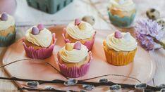 Velikonoce bez vajec si nedovedou představit snad ani ty nejotrlejší povahy. Mini Cupcakes, Food, Eten, Meals, Diet