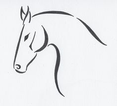 Horse Tattoo Design by discosweetheart on DeviantArt