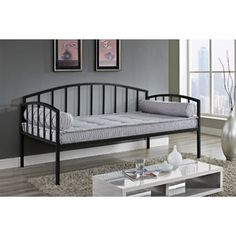 Ava Metal Daybed, Multiple Colors