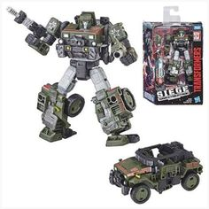 Transformers Siege War for Cybertron 6 Inch Figure Deluxe Wave 1 - Autobot Hound for sale online Catwoman, Last Knights, The Siege, Cogs, Vintage Toys, Military Vehicles, Action Figures, Battle, Transformers Cybertron