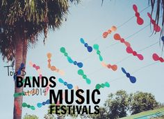 TOP 5: Bands at 2014 music festivals