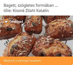 Bagett, szögletes formában sütve (Gluténmentes) Muffin, Breakfast, Food, Morning Coffee, Essen, Muffins, Meals, Cupcakes, Yemek