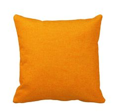 Sunburst Orange Outdoor Throw Pillow Cover by PrimalVogueHomeDecor