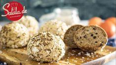 Brotbällchen mit Kümmel und Salz - Ketogen - Rezept von Low Carb Mit Vroni und Nico Mcdonalds, Wok, Muffin, Bread, Make It Yourself, Breakfast, Recipes, After, Pizza