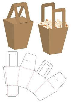 Box Packaging Die Cut Template Design Discover thousands of Premium vectors available in AI and EPS formats Diy Paper, Paper Crafts, Foam Crafts, Paper Art, Kraft Paper, Paper Box Template, Gift Box Templates, Templates Free, Design Templates