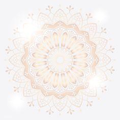 Golden mandala on white background vector | free image by rawpixel.com / sasi Yoga Background, Geometric Background, Background Patterns, Textured Background, Png Images For Editing, Background Images For Editing, Image Allah, Mubarak Ramadan, Rose Gold Texture