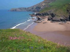 llangranog beach. a little piece of heaven found in wales (near to newquay and well worth a visit). one of our lovliest times.....remember splashing in the waves for hours georgia.xxxx