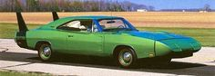 The 1969 Dodge Charger Daytona represented Dodge's brief commitment to NASCAR racing and resulted in almost equaling the success of Ford.