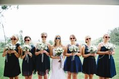 Fun Red and Navy Country Wedding | Bright Girl #wedding
