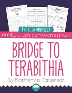 Worksheets Bridge To Terabithia Worksheets bridge to terabithia student worksheets and companion pack