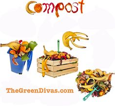 For most Green Divas Foodie-Phile segments, we talk about the history, health benefits and ways to make amazing food. What we haven't discussed too often, however, is how to repurpose food wa… Farm Gardens, Outdoor Gardens, Compost Mulch, Green Tips, Flower Nursery, Organic Gardening Tips, Homekeeping, Natural Garden, Food Waste