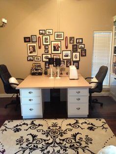 Office/scrapbook/sewing room rearrangement