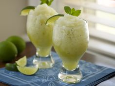 Life is good!!  Food Network invites you to try this Mojito Slushy recipe from Tyler Florence.