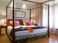Chambre à l'Hôtel Wolmar | IleMaurice  #Île #Island #Maurice #Hotel #Chambre #Bedroom