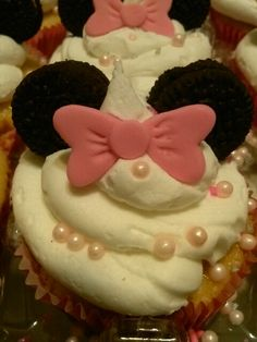 #minnie mouse cupcake