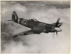 Supermarine Spiteful. Successor to the Spitfire, built in very small numbers due to the advent of jet propulsion.