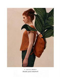 VISUAL BOTANY/Look Book   Photography&Art Direction/Barbara Franzò Stylist/Elena Grappiolo Accessories/ IAMASAILOR Model/ Rebecca@Beatrice models Milan