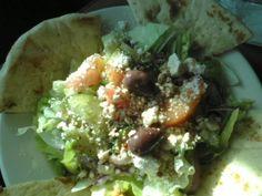 Small Greek Salad @ Greek Grill.  $5.95 plus tax