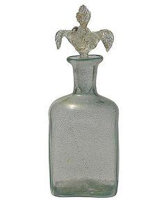 british vintage perfume bottles | Vintage 1950s Italian Murano Glass Perfume Bottle
