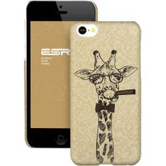 ESR Illustrators' Collection iPhone 5C Back Cover Snap On Case (Tycoon Giraffe) ESR,http://www.amazon.com/dp/B00GN6BP7C/ref=cm_sw_r_pi_dp_FY85sb0FSRRCNWN3