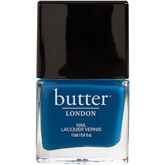 butter LONDON Nail Lacquer, Blagger 0.4 oz (11 ml) ($15) ❤ liked on Polyvore featuring beauty products, nail care, nail polish, nails, makeup, beauty, accessories, butter london nail lacquer, butter london and opi nail lacquer