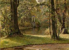 Шишкин И. И. Осень на Крестовском острове. 1892