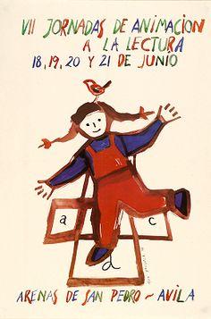 VII Jornadas de animación a la lectura: 18, 29, 20 y 21 de junio, Arenas de San Pedro, Avila / Asun Balzola (1992)