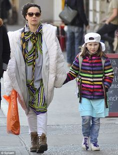 She's a chip off the old Bjork! Icelandic singer shows off her mini me daughter Isadora Ex Husbands, Too Cool For School, Celebs, Celebrities, Mini Me, Celebrity Gossip, To My Daughter, Old Things, Singer