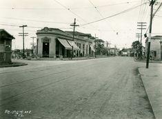 Rua Manuel Dutra (1920) - Obras de pavimentação da Rua Manuel Dutra, no bairro da Bela Vista.