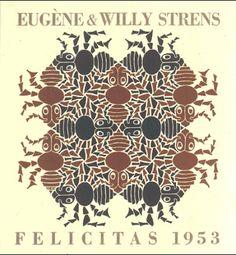 The four elements - Earth, 1952 - M.C. Escher