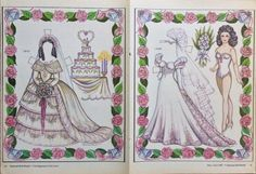 June Bride Yesterday & Today Magazine Paper Doll,1988, By Loraine Morris   Dolls & Bears, Paper Dolls, Magazine   eBay!