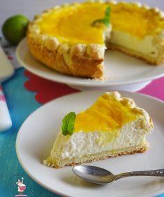 Crostata cheesecake al mango e lime | Le Torte di Michy