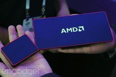 AMD's impossibly thin nano PC prototype sits on your TV, but don't call it a set-top box