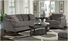living room ideas with grey couch decor #interiordecoronabudgetrugs