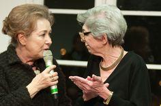 Gianna Gissi has been the very first alumnus of Accademia with the actual President of Accademia Mrs Fiamma Lanzara #accademiacostumeemoda #alumni #giannagissi #costumedesign