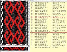 32 tarjetas, 3 colores, repite cada 10 movimientos // sed_1062 diseñado en GTT༺❁