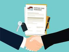 Mortgage loan agreement handshake concept of investment, risk and buying Mortgage Tips, Mortgage Rates, Paying Off Mortgage Faster, Online Mortgage, Mortgage Payment Calculator, Home Equity Loan, Mortgage Interest Rates, Mortgage Comparison