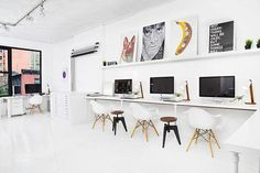 Small Space Ideas from the Office of Sagmeister & Walsh | Apartment Therapy