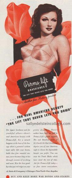 1944 Perma*Lift advertisement via flickr.