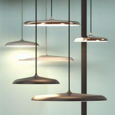 Artist pendel, dimbar LED, 3 meter kabel, diameter 25 cm