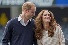 Pin for Later: Die königliche Reise holt das Beste aus Will und Kate heraus Und Will lächelte, wenn sich Kate freute