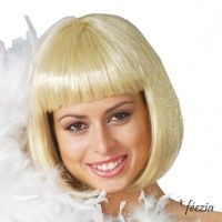 Perruque Carré Cabaret Blonde