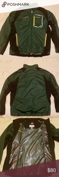 Columbia Omni Heat Oregon Ducks Jacket Like new without tags. Green and yellow Oregon Football. Columbia Jackets & Coats Performance Jackets
