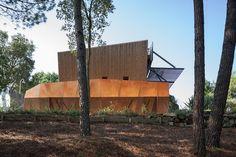 Casa de ferias em Portugal #mjarc #architecture Exterior, Firewood, Architecture, Arquitetura, Interiors, Homes, Architects, Buildings, Woodburning