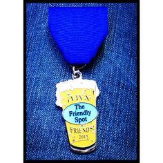 The 2015 Fiesta medal of The Friendly Spot! #FiestaSA