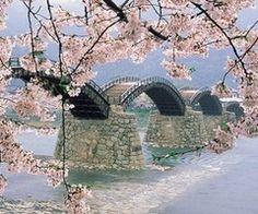 Beautiful Bridge in Japan