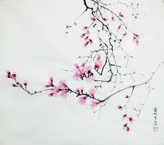 Calligraphy Drawing, Japanese Calligraphy, Chinese Painting, Japanese Art, Asian Beauty, Tatting, Oriental, Watercolor, Drawings