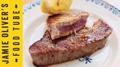 How To Cook Tuna Steak by Jamie Oliver. And don't forget you can get our large yellow fin tuna steaks delivered to your door (10 for £35.95). http://www.gourmetclassics.co.uk/products/tuna-steaks/