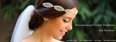 La Cala hilos de plata - Headpieces and Jewelry design: Crochet tradition into Fashion